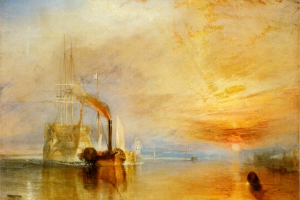 Turner painting: The Fighting Temeraire